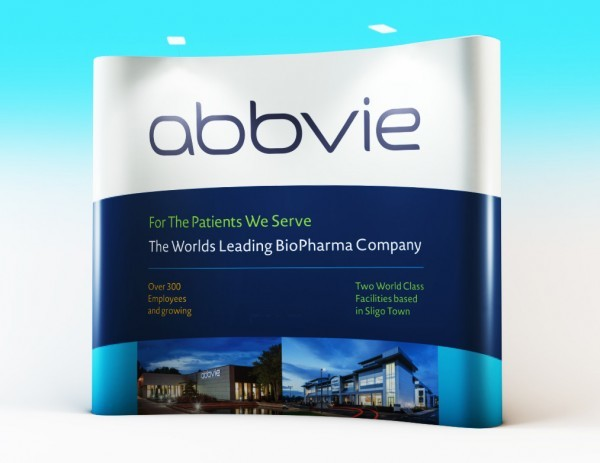 Abbvie  – Pop-Up Wall Display