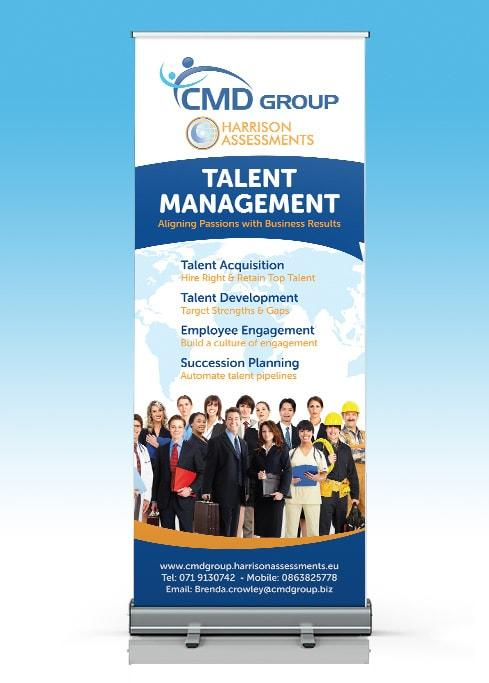 CMD Group – Pull Up Banner