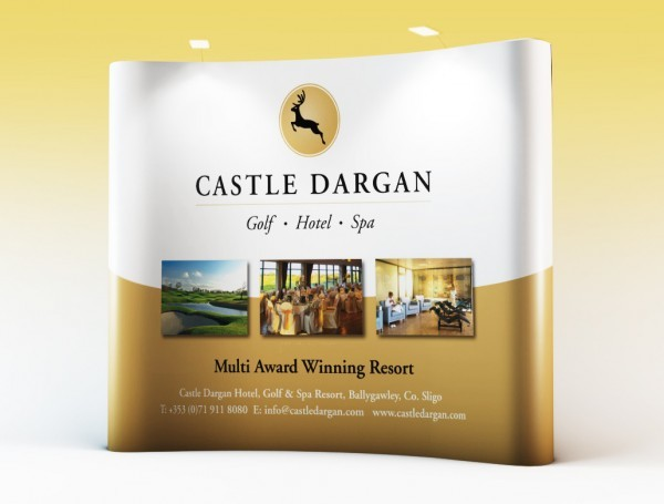 Castle Dargan – Pop-Up Wall Display