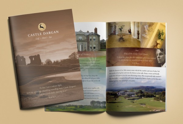 Castle Dargan, Hotel & Spa Brochure Design & Print