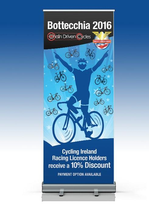 Chain Driven Cycles – Pull Up Banner