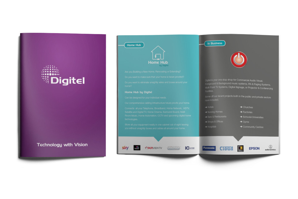 Digitel Smart Home Automation Systems Brochure Print