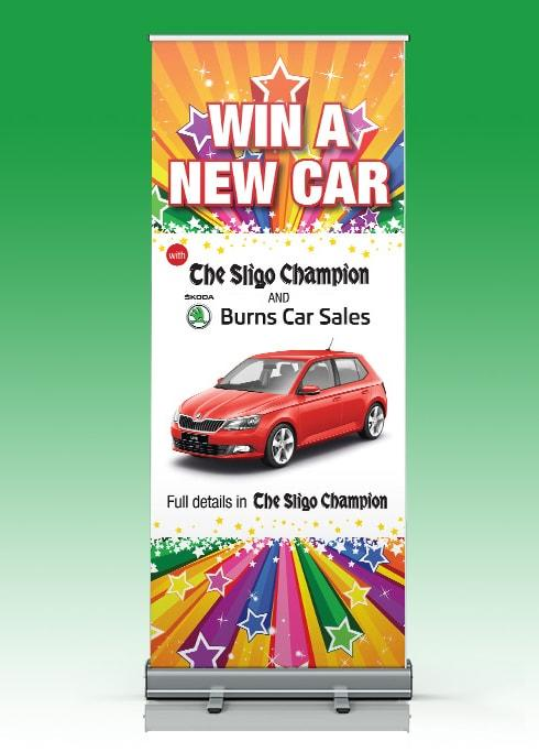 Sligo Champion – Pull Up Banner