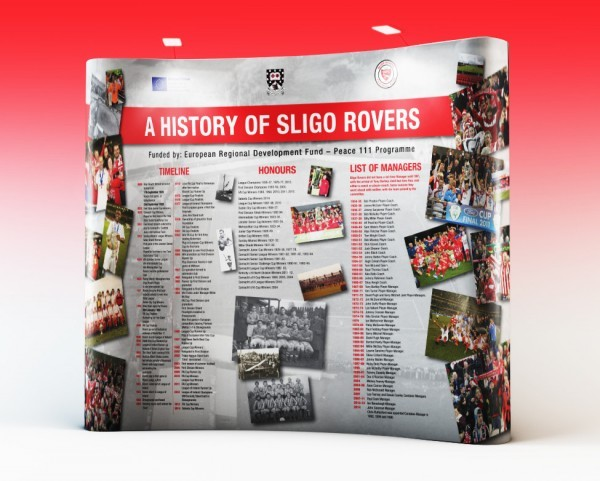 Sligo Rovers – Pop-Up Wall Display
