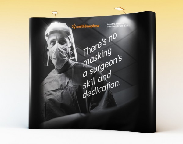 Smith & Nephew – Pop-Up Wall Display
