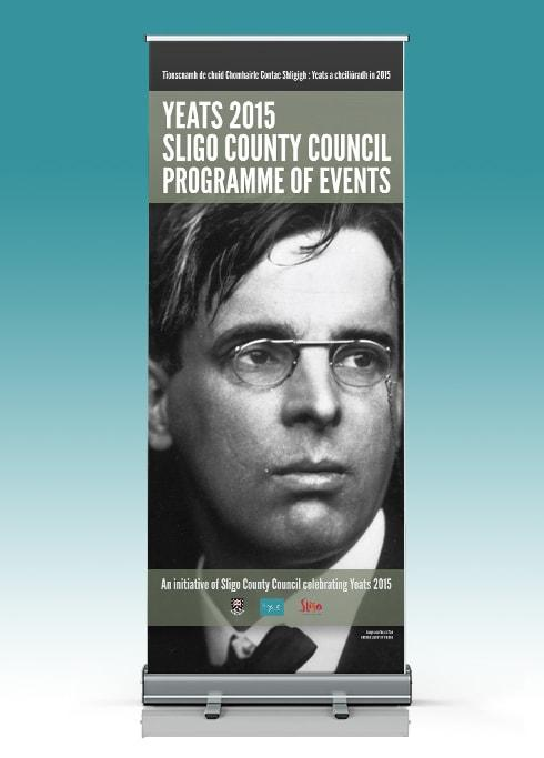 Yeats 2015 – Pull-Up Banner Display